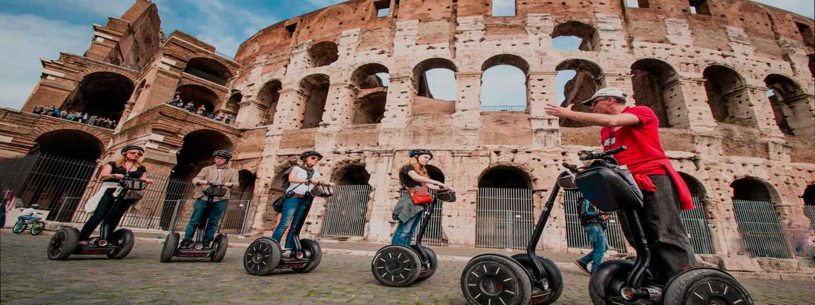 Segway Tour in Rome - mini group