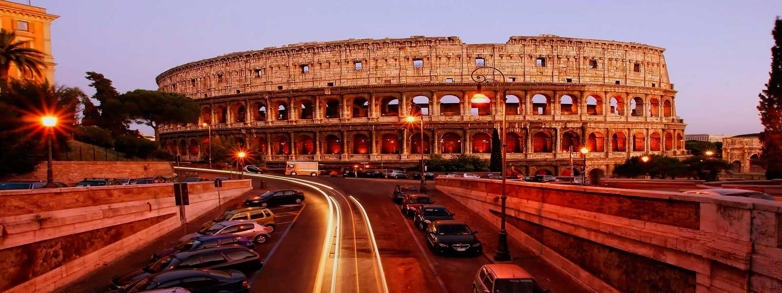 Fascinating motorcycle tour of Rome