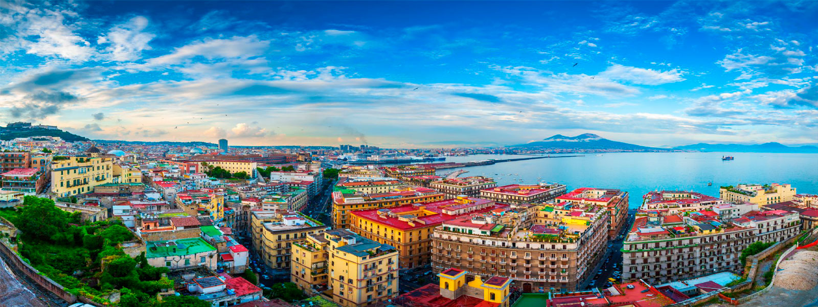Transfer Fiumicino Airport - Naples